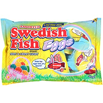 Swedish Fish Assorted Eggs Treat Size Candy, 9.5 Ounce
