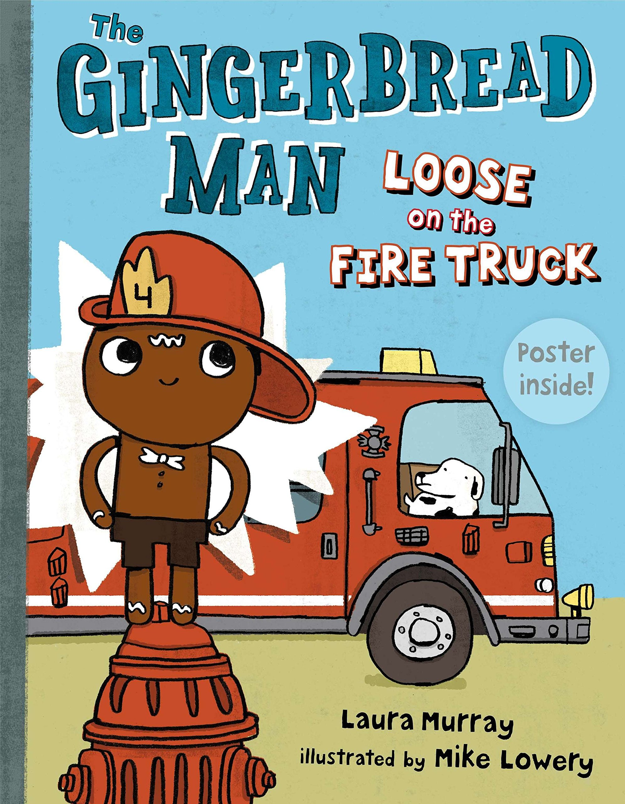 The Gingerbread Man Loose on the Fire Truck PDF