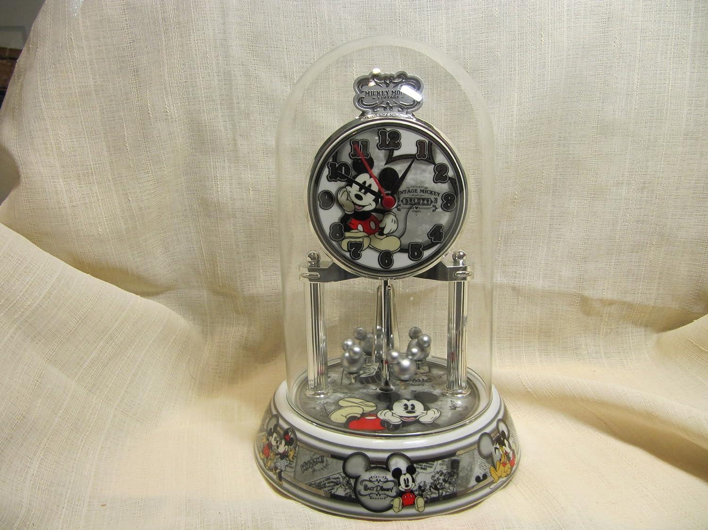 amazoncom disney mickey mouse collectible anniversary clock home u0026 kitchen - Anniversary Clock