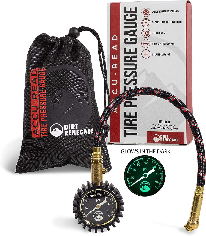 Dirt Renegade Tire Pressure Gauge