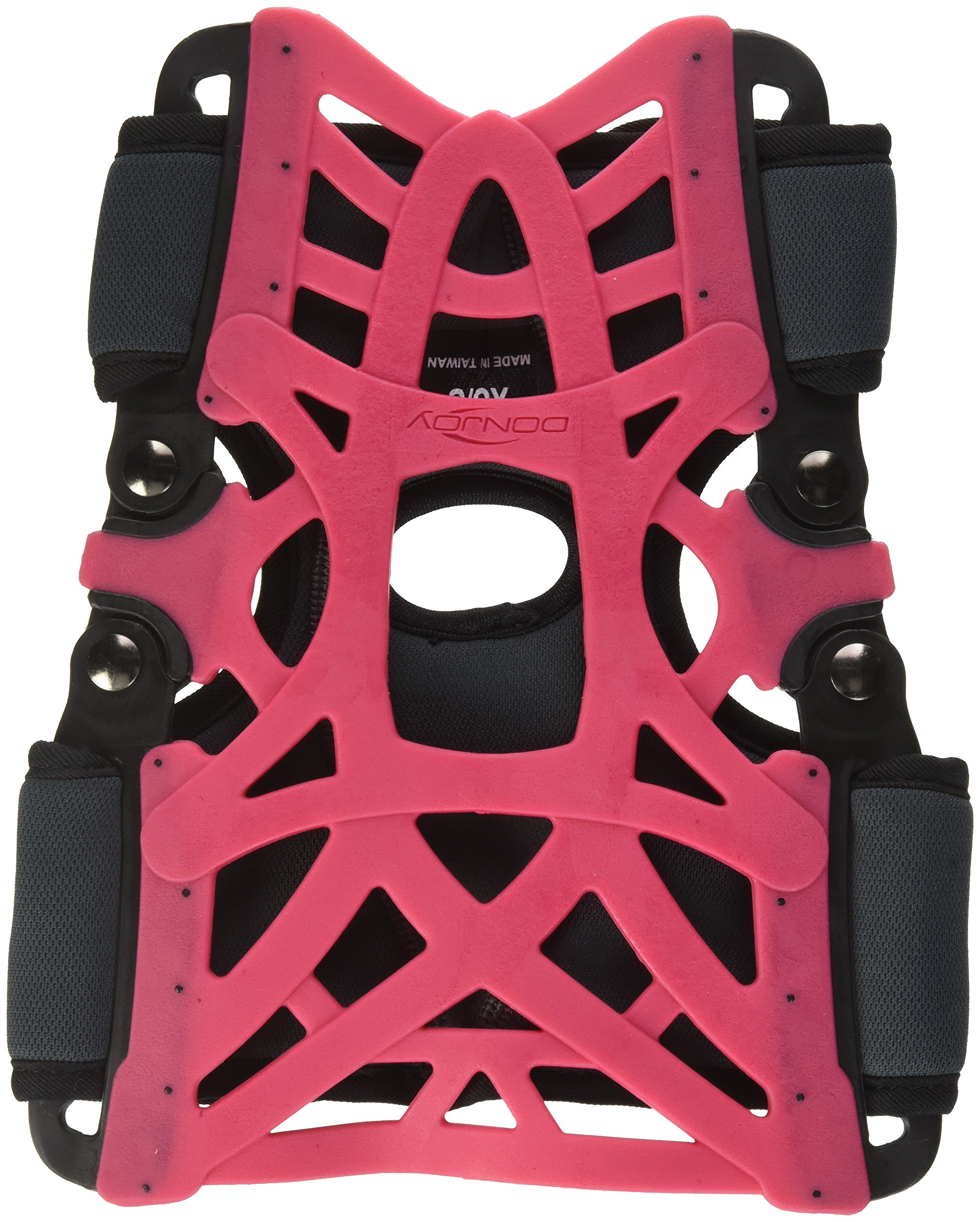 DonJoy Reaction Web Knee Support Brace with Compression Undersleeve: Pink, X-Small/Small