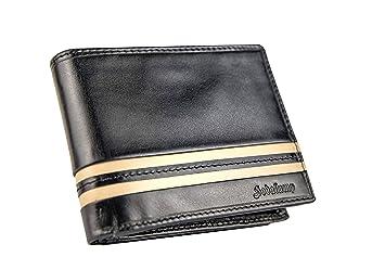 755148d0b6ae3 Hodalump Herren Leder Geldbörse mit RFID-Schutz Geldbeutel mit Geschenkbox