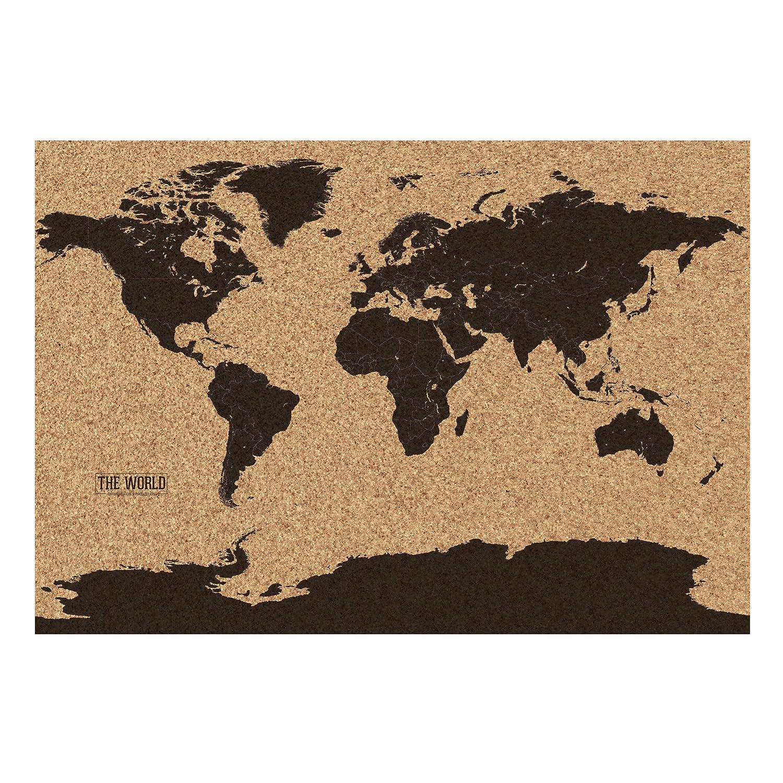 Gift republic corkboard map multi colour amazon kitchen gift republic corkboard map multi colour amazon kitchen home gumiabroncs Gallery