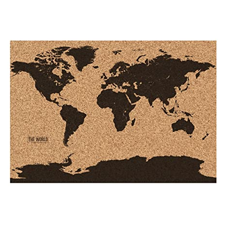 Amazon gift republic gr560006 corkboard map multicolor gift republic gr560006 corkboard map multicolor gumiabroncs Images