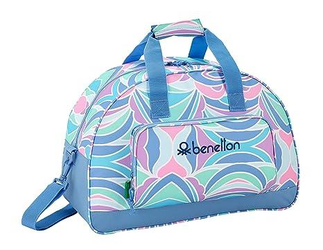 Benetton  quot Arcobaleno quot  Oficial Bolsa de Deporte Oficial  480x210x330mm 164877d26de9f