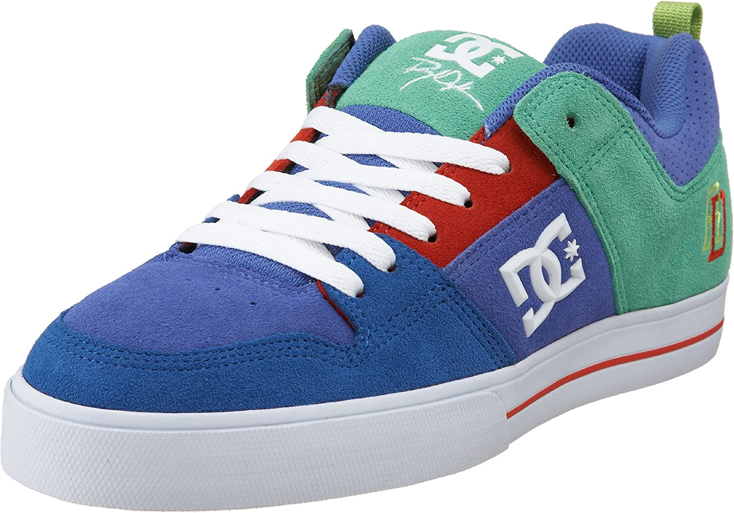 DC Shoes Men's Trainers Blue Size: 13