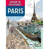 Cahier de coloriages Paris petit format