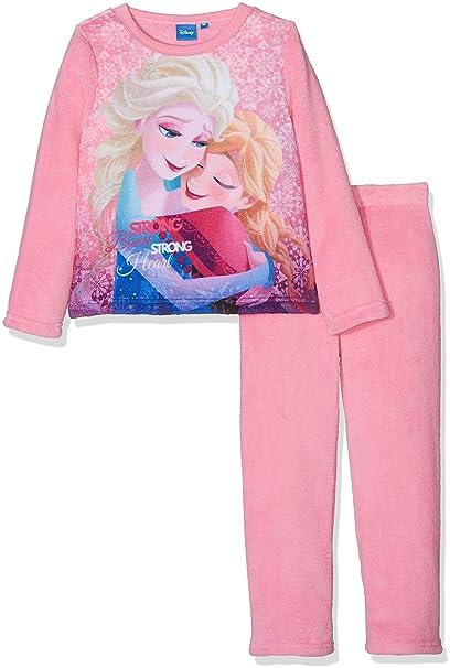Disney Frozen Sisters Hug, Conjuntos de Pijama para Niñas, Rosa (Pink 13-