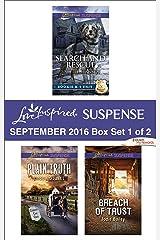 Harlequin Love Inspired Suspense September 2016 - Box Set 1 of 2: An Anthology Kindle Edition