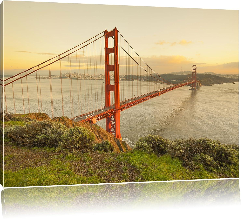 Amazon.de: Golden Gate Bridge San Francisco USA Bild auf Leinwand ...