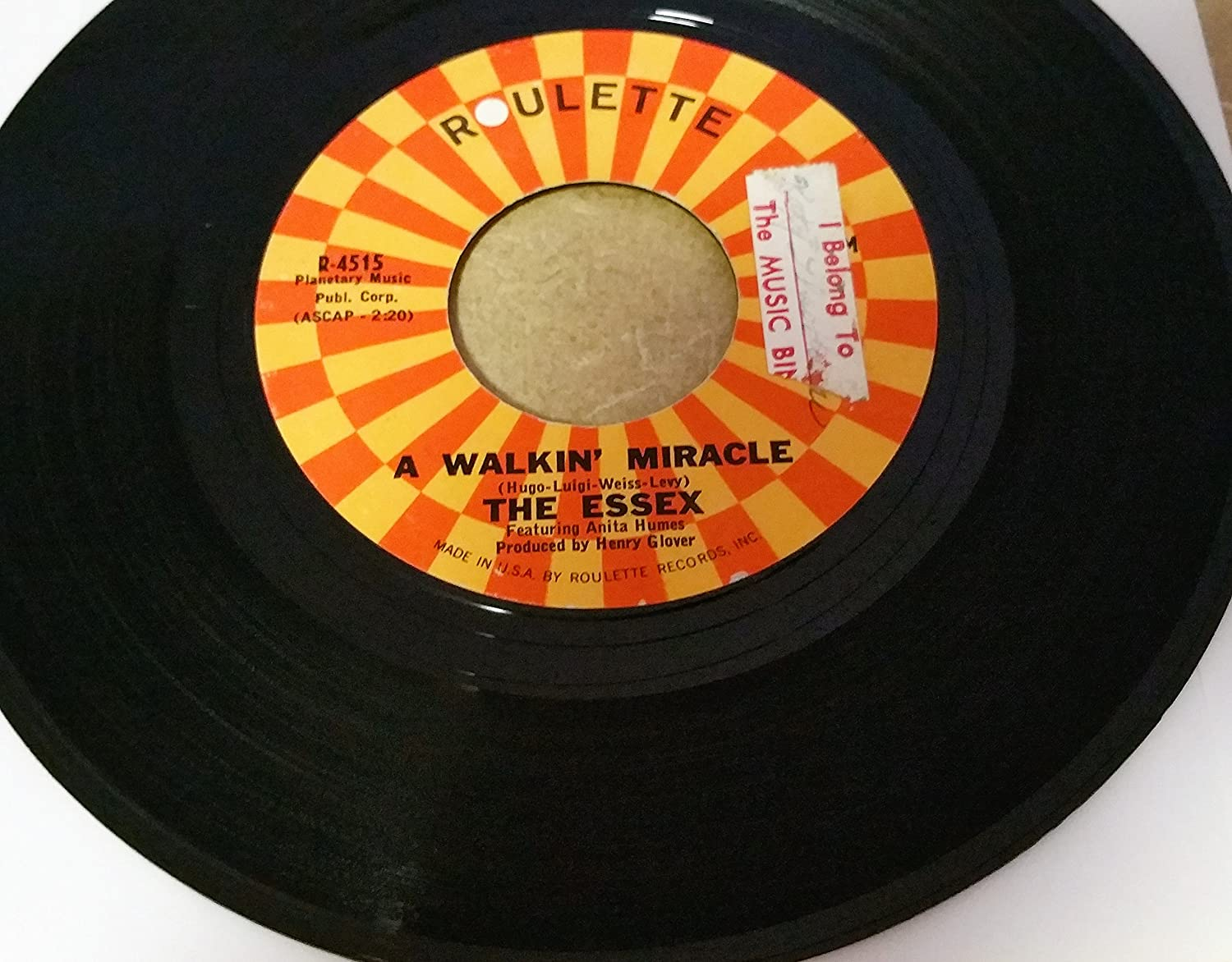 The Essex 45 RPM A Walkin' Miracle / What I Don't Know Won't Hurt Me