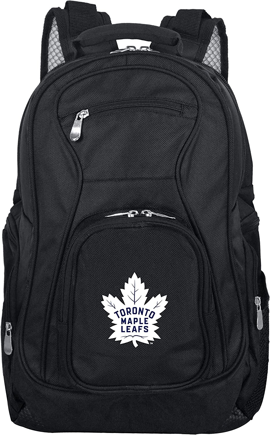 NHL Laptop Backpack, 19-inches, Black