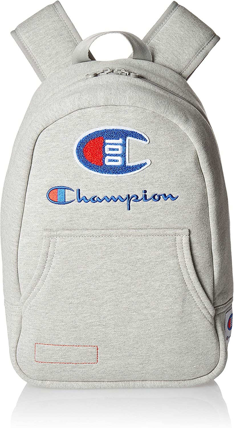 Champion Men's 101 Year Pullover Backpack, Medium Gray, One Size