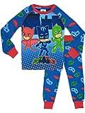 PJ Masks - Pijama para Niños Ajuste Ceñido