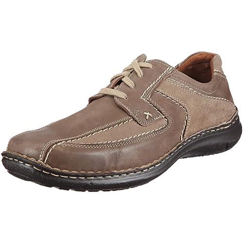 Anvers 36, Zapatos de Cordones para Hombre, Marrón, 43 EU Josef Seibel