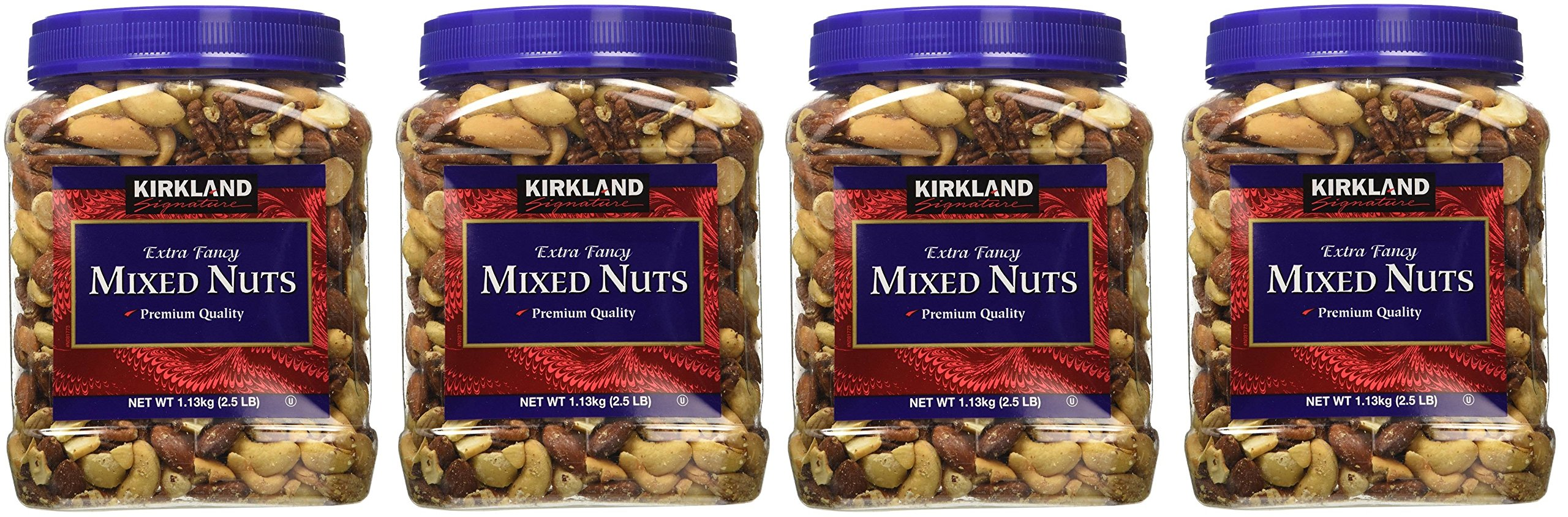 Kirkland Signature qCqKzc Fancy Mixed Nuts, 40 Ounce (4 Pack) by Kirkland Signature