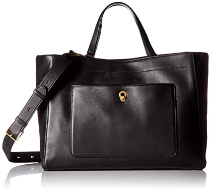 Cole Haan Zoe Work Tote (Black) Tote Handbags