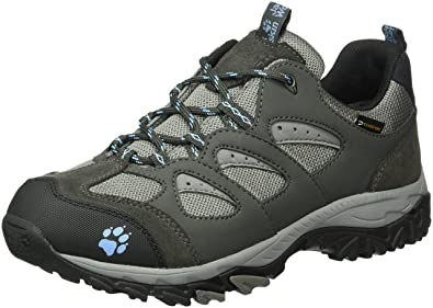 7e21edfd9a Jack Wolfskin Women's MTN Storm Texapore Low W Rise Hiking Shoes, Grey (Air  Blue