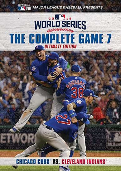 Amazon.com: Chicago Cubs: 2016 World Series: The Complete Game 7 ...