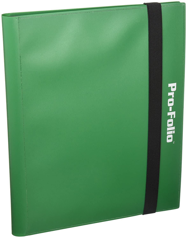 Pro-Folio 9-Pocket Album, Green Flat River Group 1-PF9-GRN