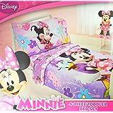 Disney Minnie 4 Piece Toddler Bedding Set