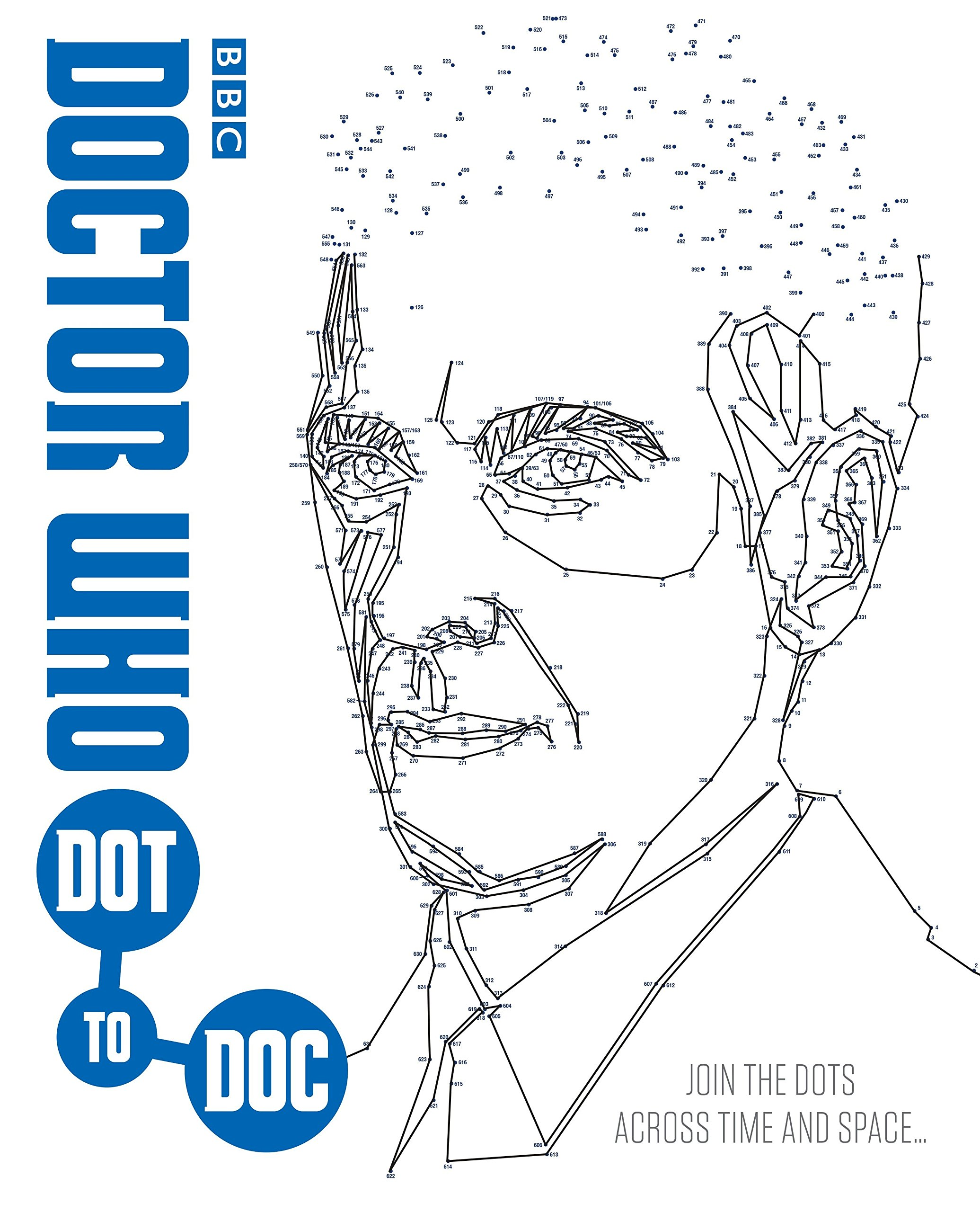 Doctor Who Dot-to-Doc: Join the Dots Across Time and Space . . .