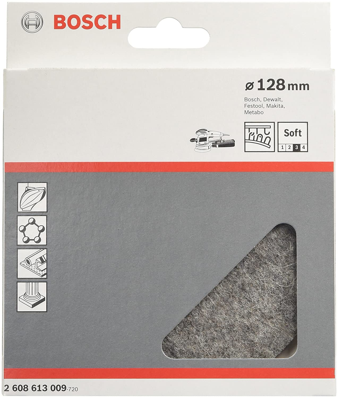 pack de 1 Bosch 1 609 200 250 Esponja de pulido 125 mm