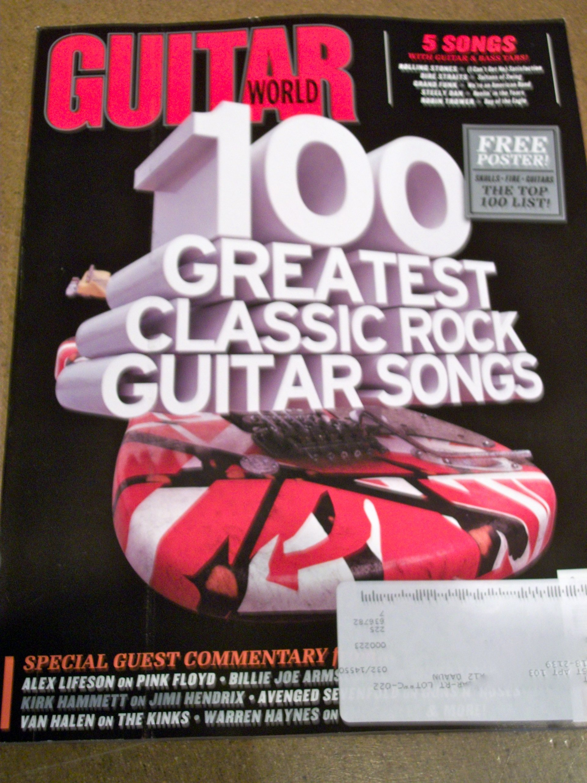 Guitar World August 2011 100 Greatest Classic Rock Guitar