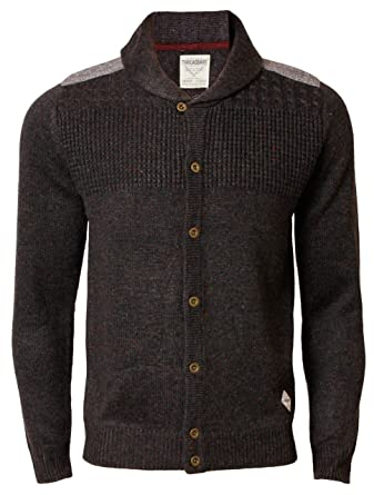 87fd294961c Mens Cardigan Knitwear Threadbare IMS 052 Shawl Neck Neppy Cardi   Amazon.co.uk  Clothing