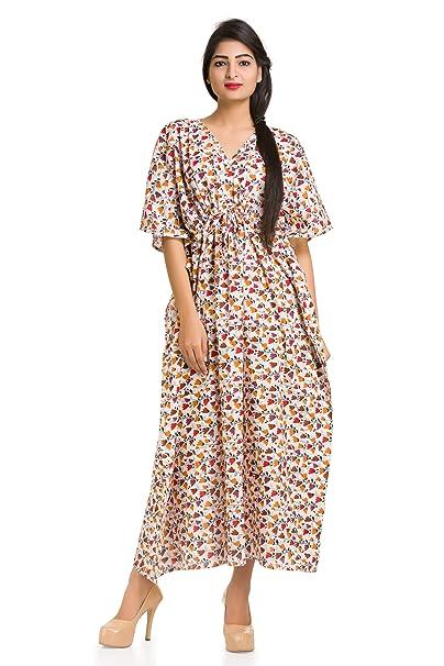 4093a2227d Handicraft-Palace Women s Cotton Kaftan Maxi Top (KL-62