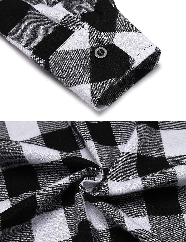 d2b844dc6401c4 Nachthemd Schlafkleid Stillen Pyjama Damen Lang Streifen Knopfleiste V-Ausschnitt  Nachtwäsche Schlafanzug Schwangere Jersey mit Taschen: Amazon.de: ...