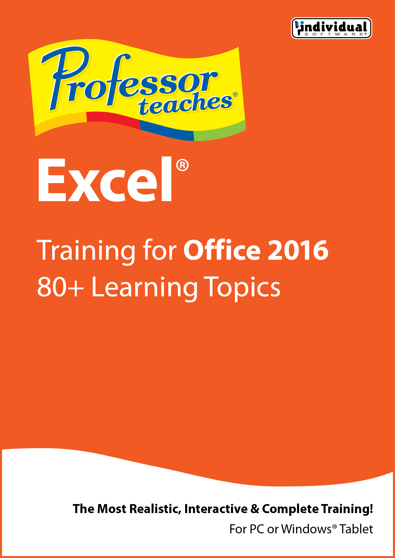 Professor Teaches Excel 2016 [Download] by Individual Software