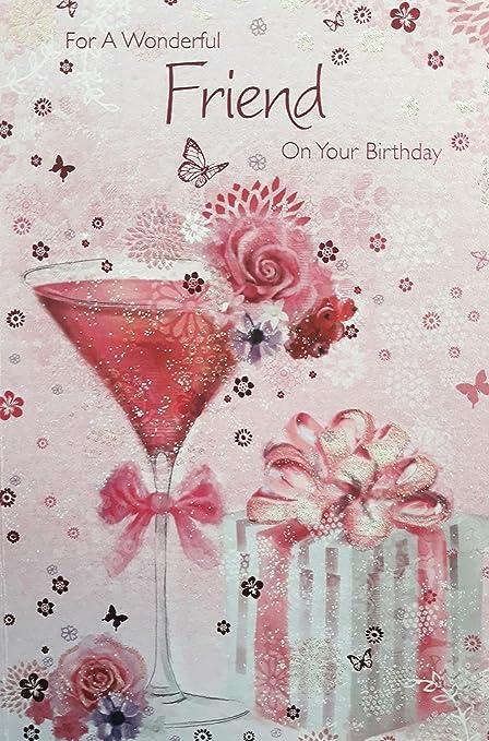 Para un maravilloso amigo en el cumpleaños de yor. Tarjeta ...