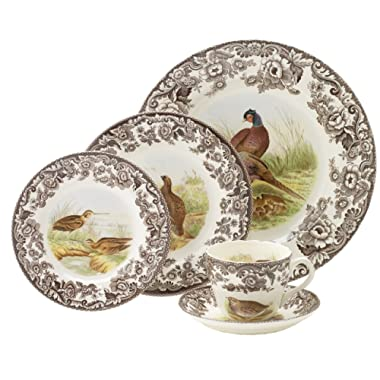 Spode Woodland 5 Piece Placesetting