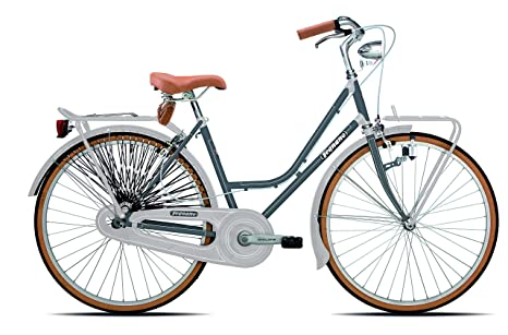 Legnano Ciclo 201 Bicicletta Vintage Donna Grigio 44 Amazonit