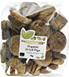 Buy Whole Foods Online  Organic Dried Figs 1kg