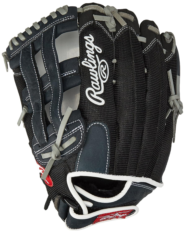 Rawlings Renegade Series Pro Mesh Back Glove, Black