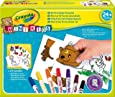 Crayola Mini Kids - 81-8113-U-000 - Kit de Loisir Créatif - Mon Premier Puzzle Autocollant