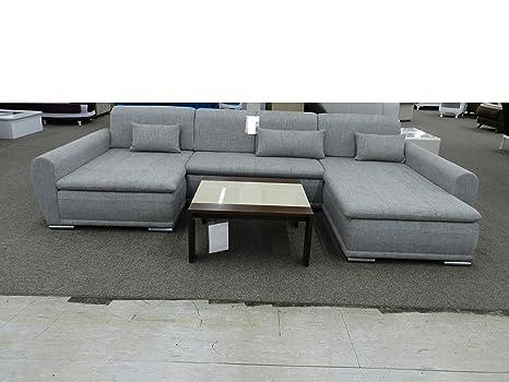 Royal Moebel Pezzo da esposizione Eck Couch Eck - Divano grigio ...