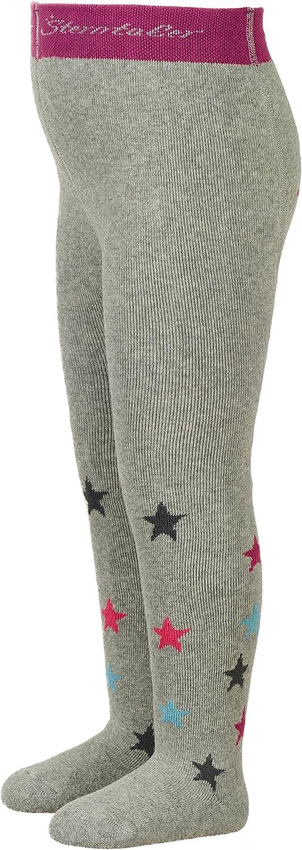 Alter: 3-4 Monate Grau Gr/ö/ße: 62 Silber Melange Sterntaler Strumpfhose mit Sternen f/ür M/ädchen