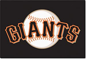 FANMATS MLB San Francisco Giants Nylon Face Starter Rug