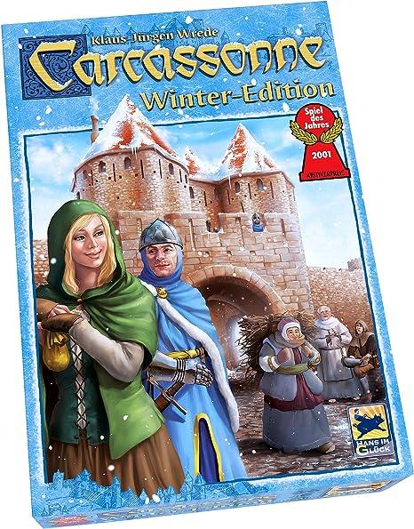Carcassonne Winter Edition - Juego de Tablero (Z Man Games ZMG78610) [Importado de Inglaterra]: Amazon.es: Juguetes y juegos