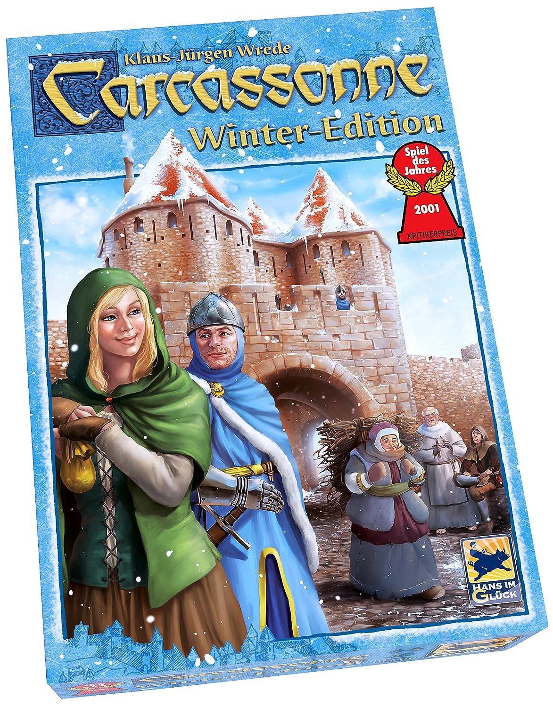 Z-Man Games 78610 - Carcassonne Winter Edition Brettspiele
