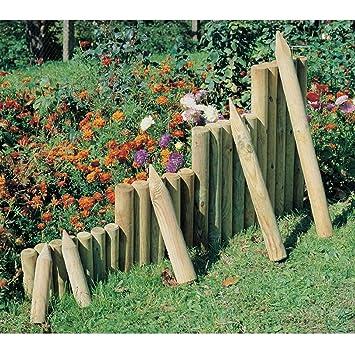 Palissade / Bordure de jardin / Clôture platebande à planter en ...