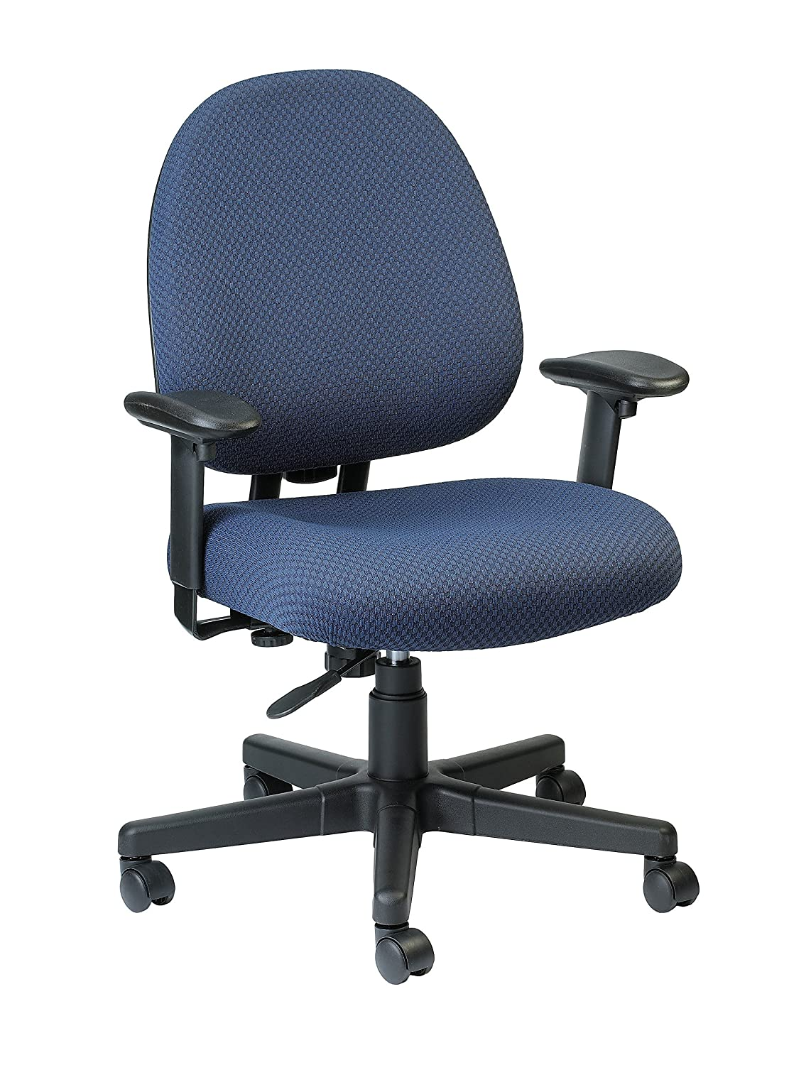 Eurotech Seating Cypher FT2700-NAVY Ratchet Back Swivel Chair Navy