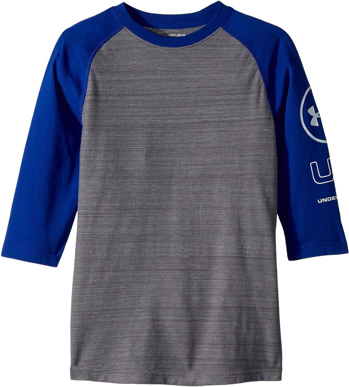 e0ee84cf8 Amazon.com: Under Armour Kids Mens MVP Power Sleeve Tee (Big Kids): Clothing