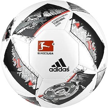 adidas DFL Glider Balón de Fútbol, Hombre, (Blanco/Negro/Rojsol ...