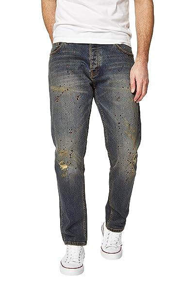 next Hombre Vaqueros Corte Tapered Pantalones EU 91.5 XLong ...