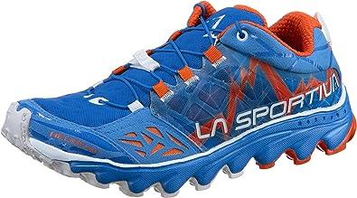 La Sportiva Helios 2.0 Woman, Zapatillas de Trail Running para Mujer, Multicolor (Marine Blue/Lily Orange 000), 39.5 EU: Amazon.es: Zapatos y complementos