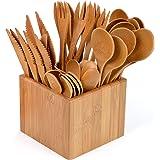 Gräwe, set di posate da 41 pezzi con contenitore in bambù